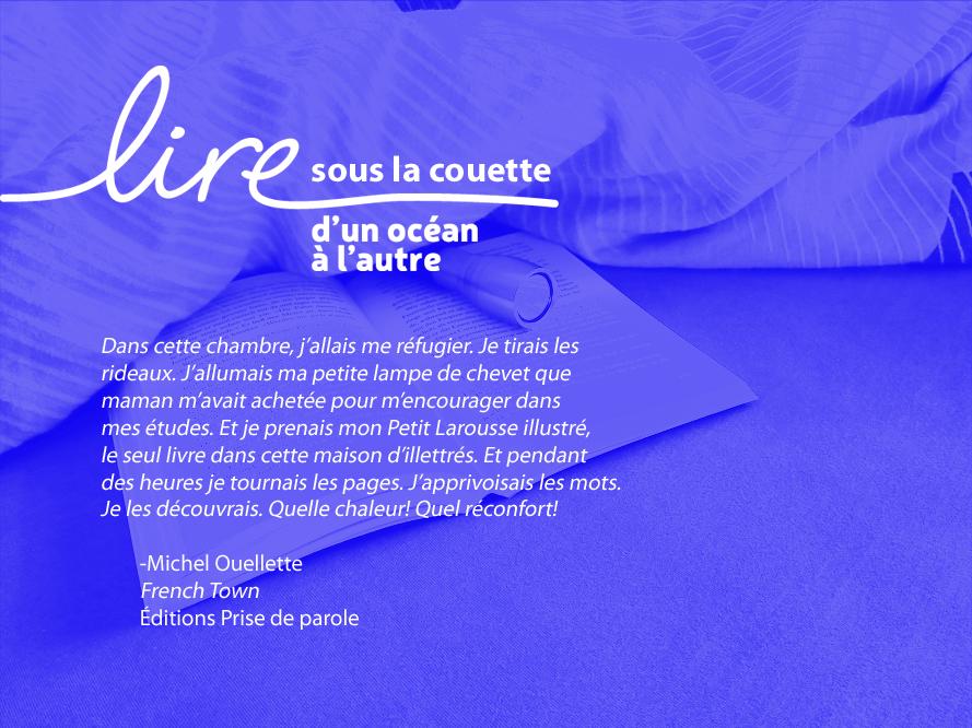 Lire sous la couette_Ouellette
