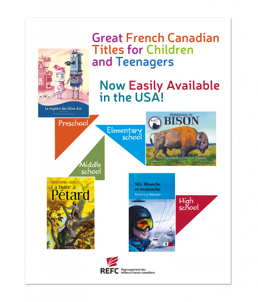 Brochure: Children and Teenagers Literature