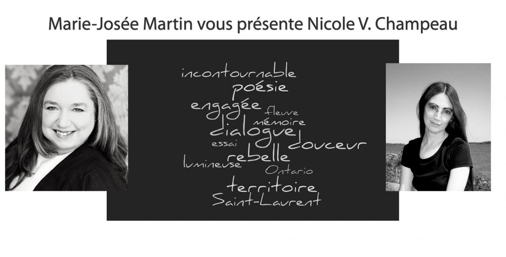 Marie-Josée Martin vous présente Nicole V. Champeau