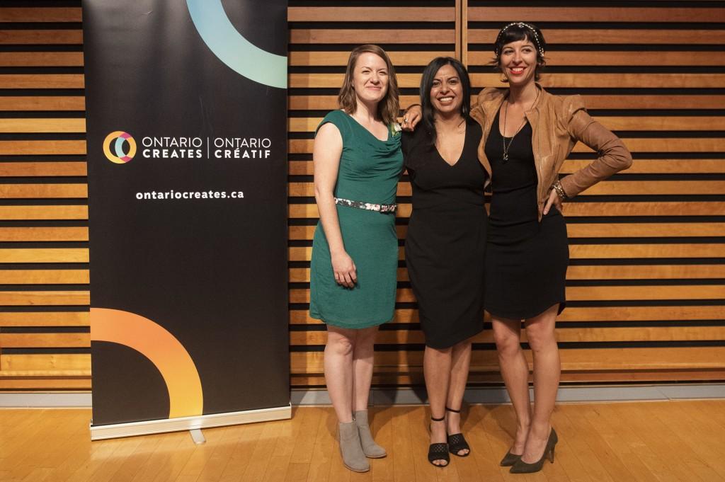 Ontario Créatif - Ontario créatif annonce le nom des lauréates
