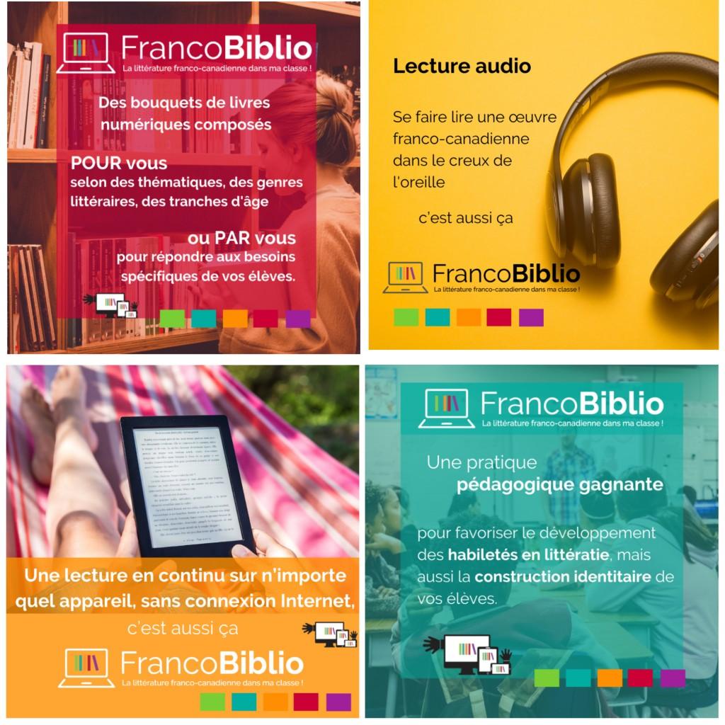 trousse médias sociaux FrancoBiblio