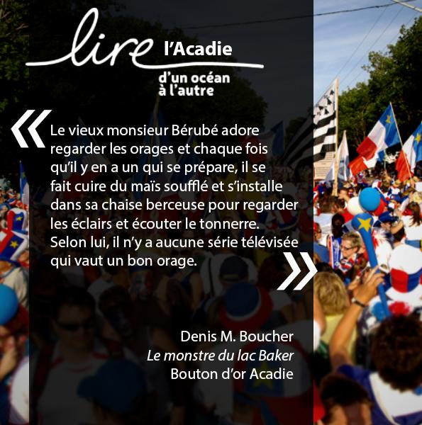 Lire l'Acadie_Boucher