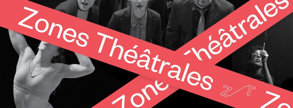 Affiche Zones Théâtres 2019