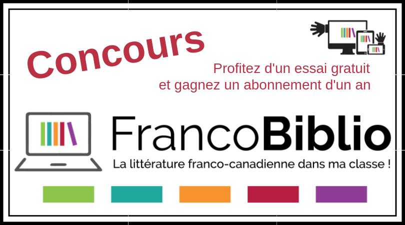 Concours FrancoBiblio