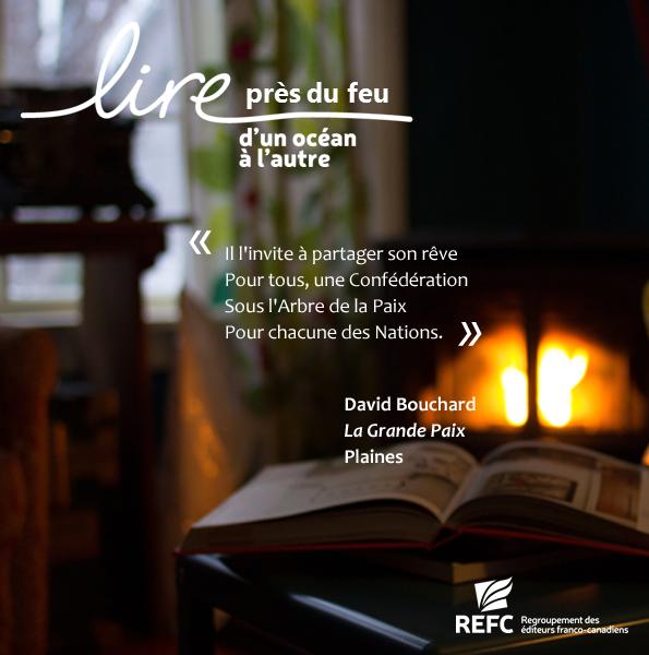 Lire près du feu_Bouchard