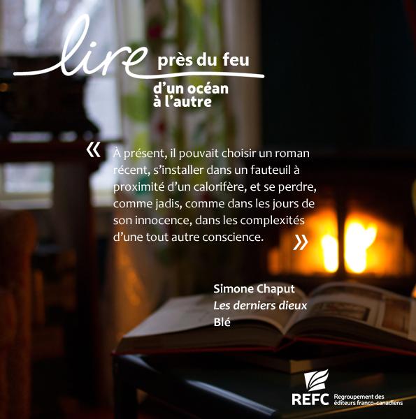 Lire près du feu_Chaput