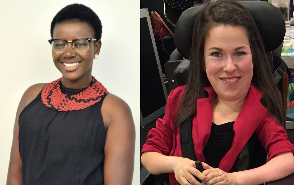 Koultoumy Diallo et Mylène Viens
