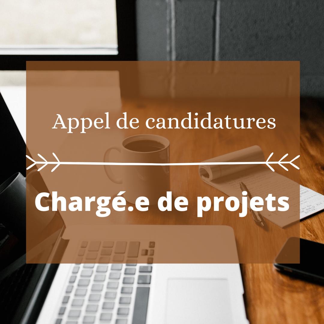 Appel de candidatures_ Chargé.e de projets