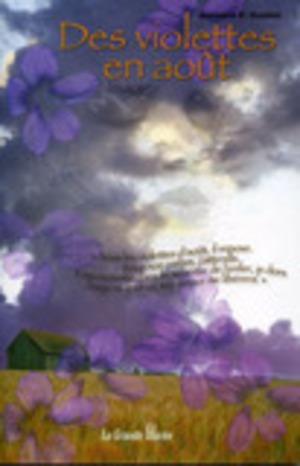 Des violettes en août