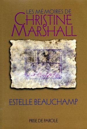 Les mémoires de Christine Marshall