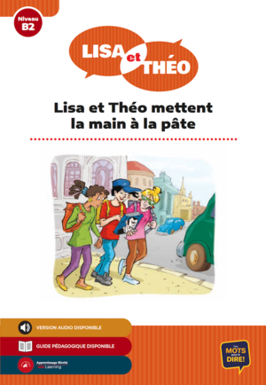 Lisa et Théo mettent la main à la pâte