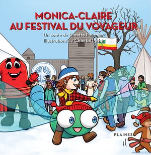 Monica-Claire au Festival du Voyageur