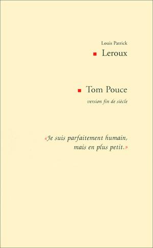 Tom Pouce version fin de siècle